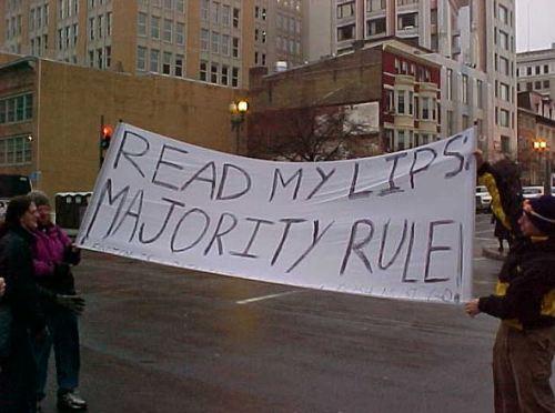 MajRuleProtest